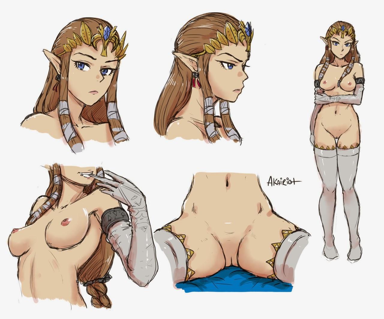 Zelda Nud 72