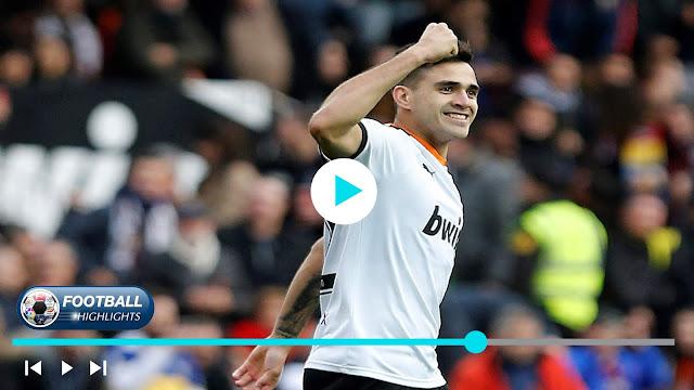 Valencia vs Barcelona Highlights