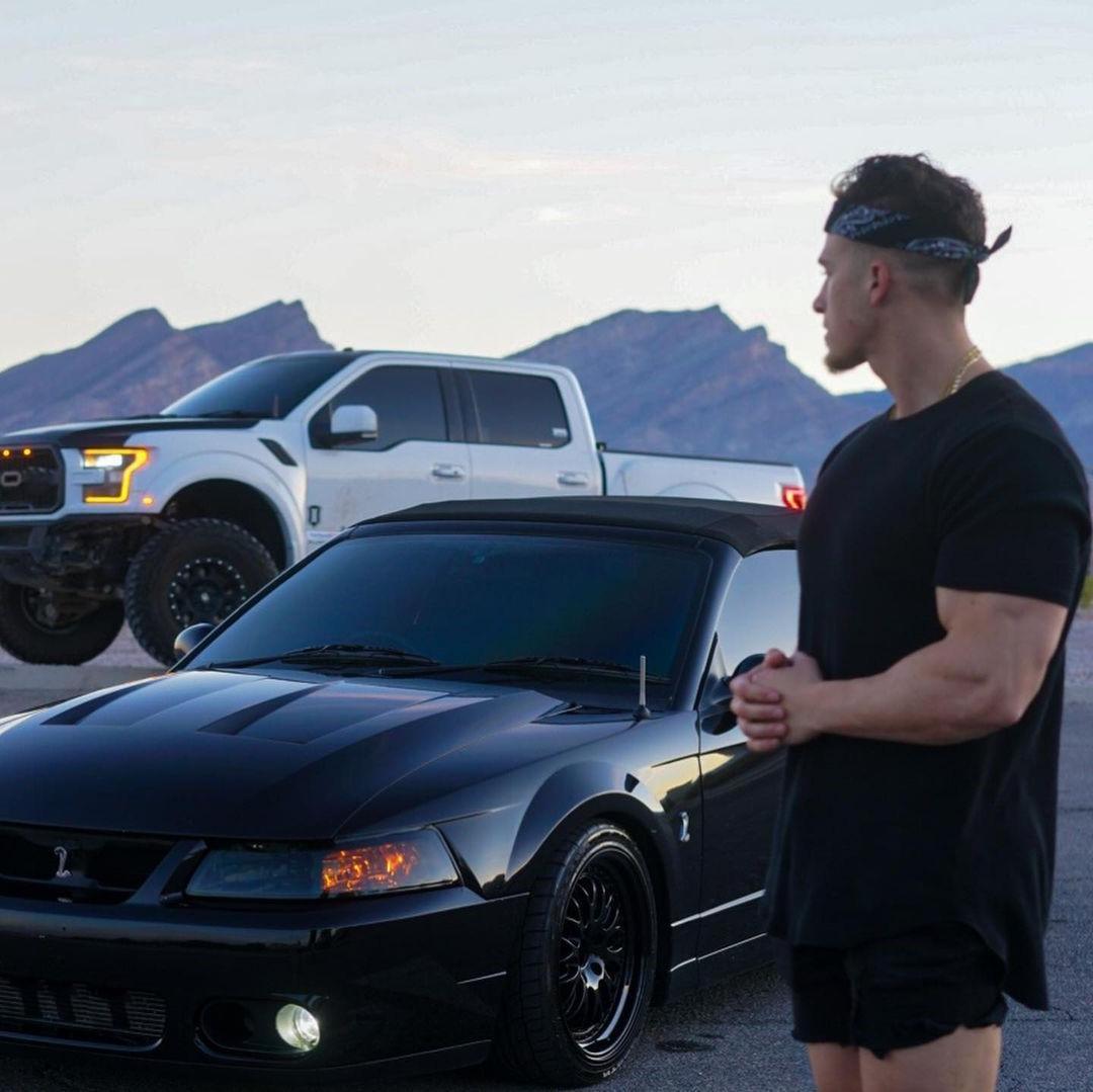 huge-biceps-dude-brandon-anthony-flihan-bad-boy-cars-lover