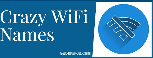 crazy names of wifi latest list