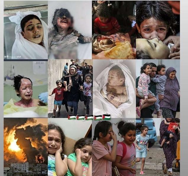 Νέο δολοφονικό σφυροκόπημα της Γάζας (ΣΚΛΗΡΕΣ ΦΩΤΟ)