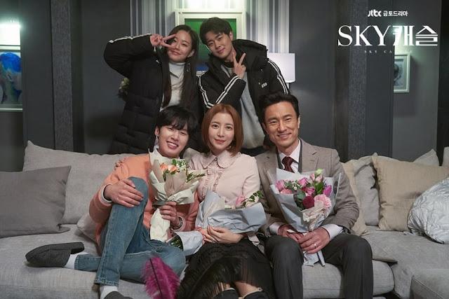 """Episode Terakhir Tayang, Pemain """"SKY Castle"""" Ucapkan Selamat Tinggal"""