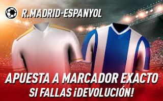 sportium promo liga Real Madrid vs Espanyol 7 diciembre 2019