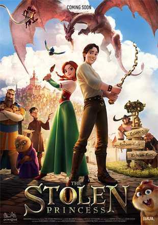 The Stolen Princess: Ruslan and Ludmila 2018 Full Hindi Movie Download Dual Audio HDRip 720p