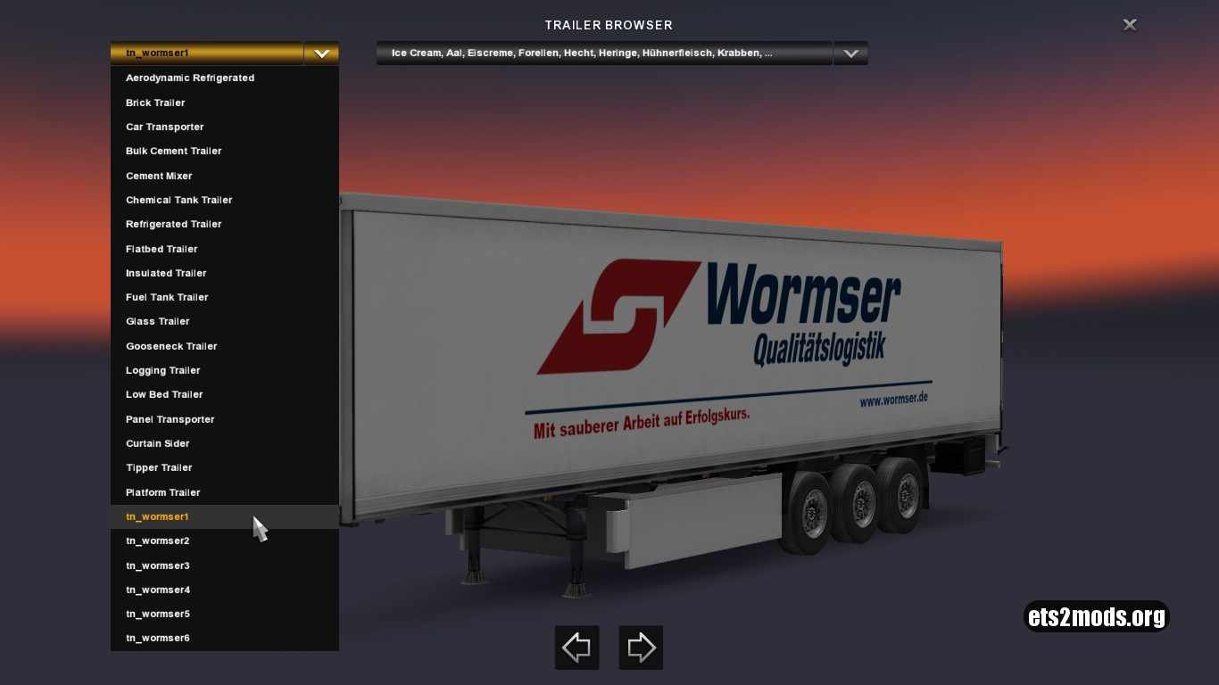 Wormser Trailers Pack