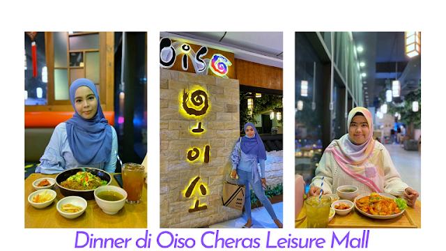 Spicy Topokki dan Glass noodle Sedap di Oiso Cheras Leisure Mall