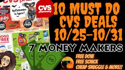 10 Cvs Must Do Deals 10 25 10 31 Youtube Video
