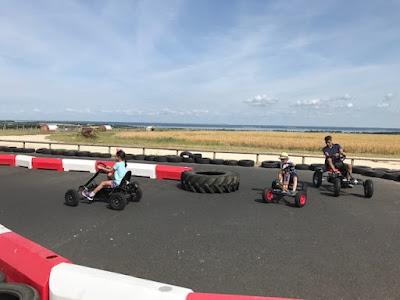 Tapnell Farm Park outdoor go kart track