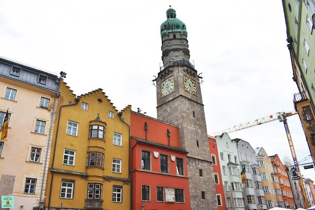 Torre de la Ciudad en Innsbruck, Austria