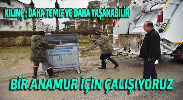 Anamur Haber, Anamur Haberleri, Anamur Son Dakika, Hidayet Kılınç, Anamur Belediyesi,