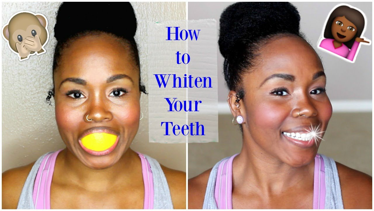 How to Whiten Teeth Naturally And Quickly