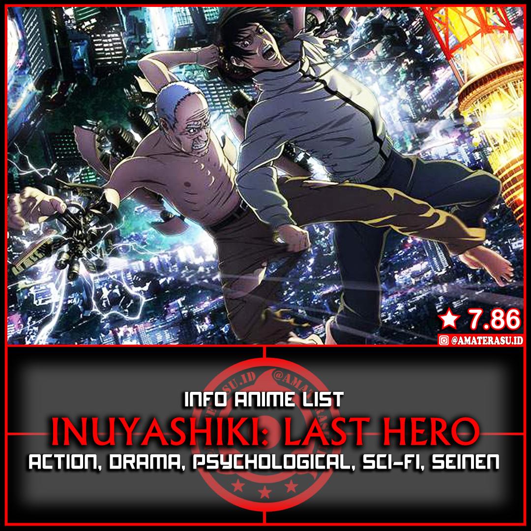 Info Anime List Inuyashiki Sinopsis