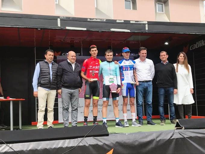 Raúl García (Kometa Cycling Team) estrena el palmarés de la Vuelta a la Ciudad de Cieza