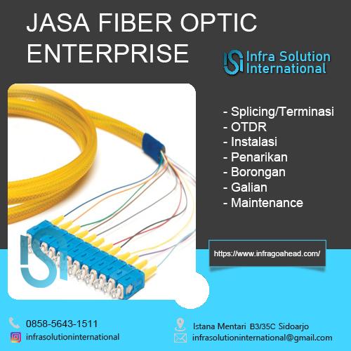 Jasa Splicing Fiber Optic Pamekasan Enterprise
