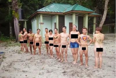 Hasil carian imej untuk Pantai bogel di malaysia
