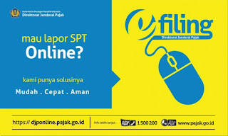 Cara Lapor SPT Tahunan E filing melalui DJP Online Bagi WP Badan dan Orang Pribadi