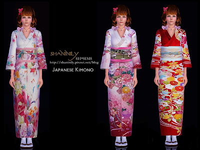 Japanese Teen Kimono 66
