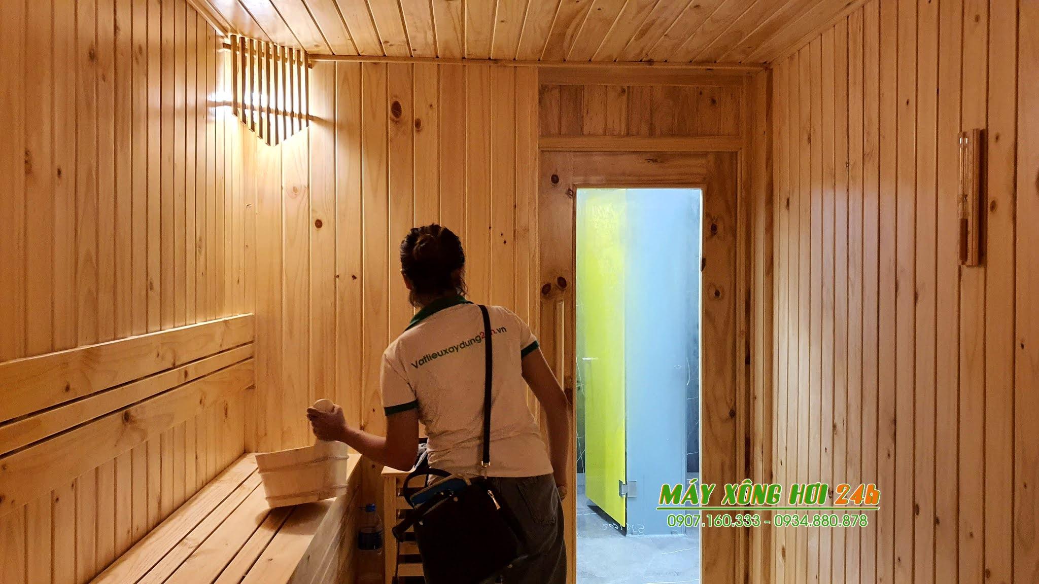 Thi công phòng xông hơi - Saunas Steam room