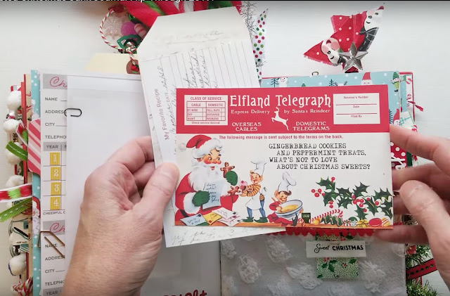 Christmas telegrams by KB and Friends in KittyWitty Papercraft's journal