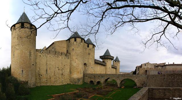 Panoramica del Castello di Carcassonne