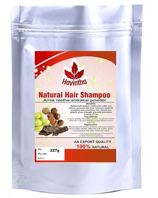 Havintha natural hair shampoo Review In hindi