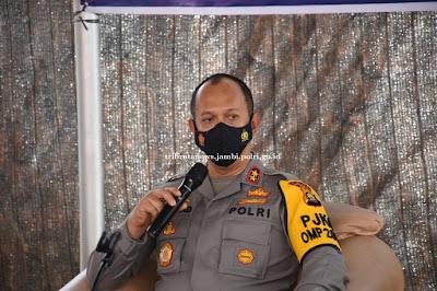 Tingkatkan Kamtibmas, Kapolda Jambi Laksanakan Tatap Muka dengan Pengurus Pokda Kamtibmas Jambi