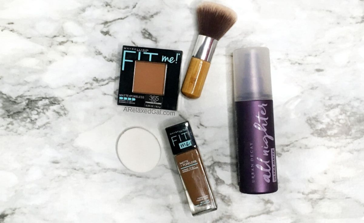 Top makeup products for oily skin | A Relaxed Gal
