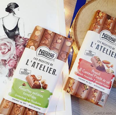 Les recettes de l'Atelier de Nestlé