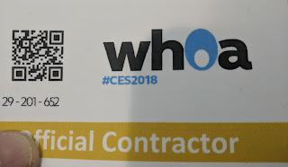 WHOA CES 2018