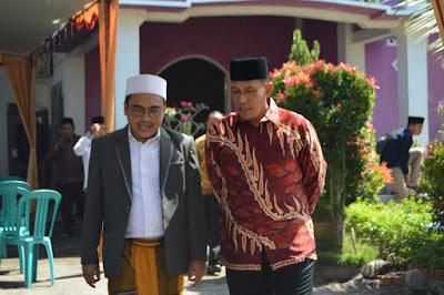 Danlanal Silaturahmi ke Ponpes Al-Madani