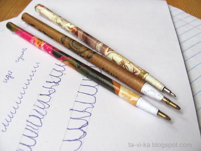самодельная шариковая ручка