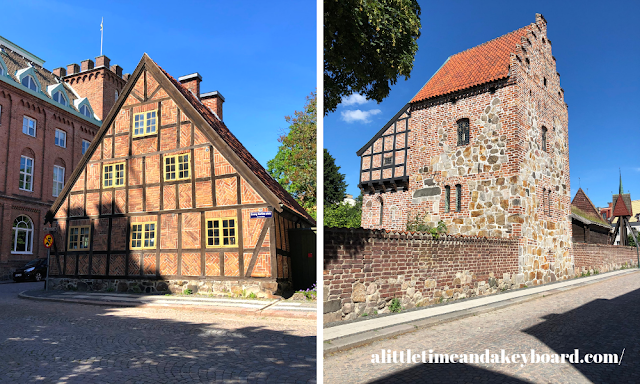 Historic buildings of Kulturen date back to the medieval times to the 1900's in Lund, Sweden.
