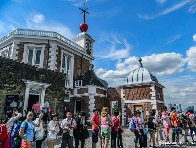 Flamsteed House, Observatório Real de Greenwich, Londres