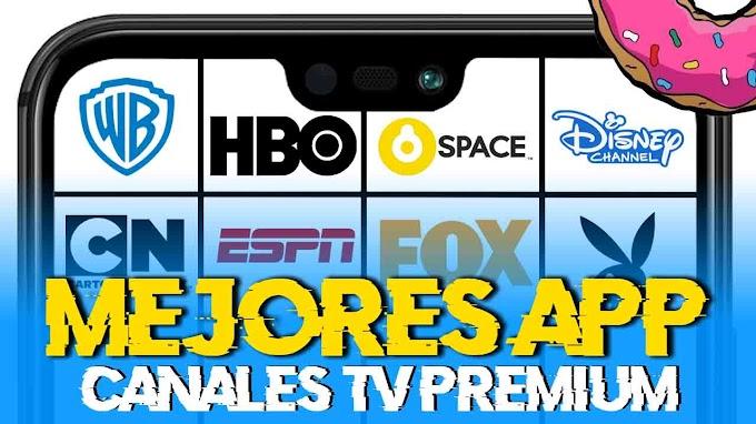 Top 5 Nuevas Apps Para Ver Canales de TV Premium Gratis