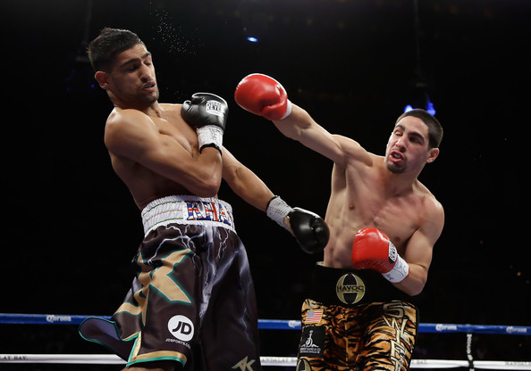 Amir Khan vs Danny Garcia 2012