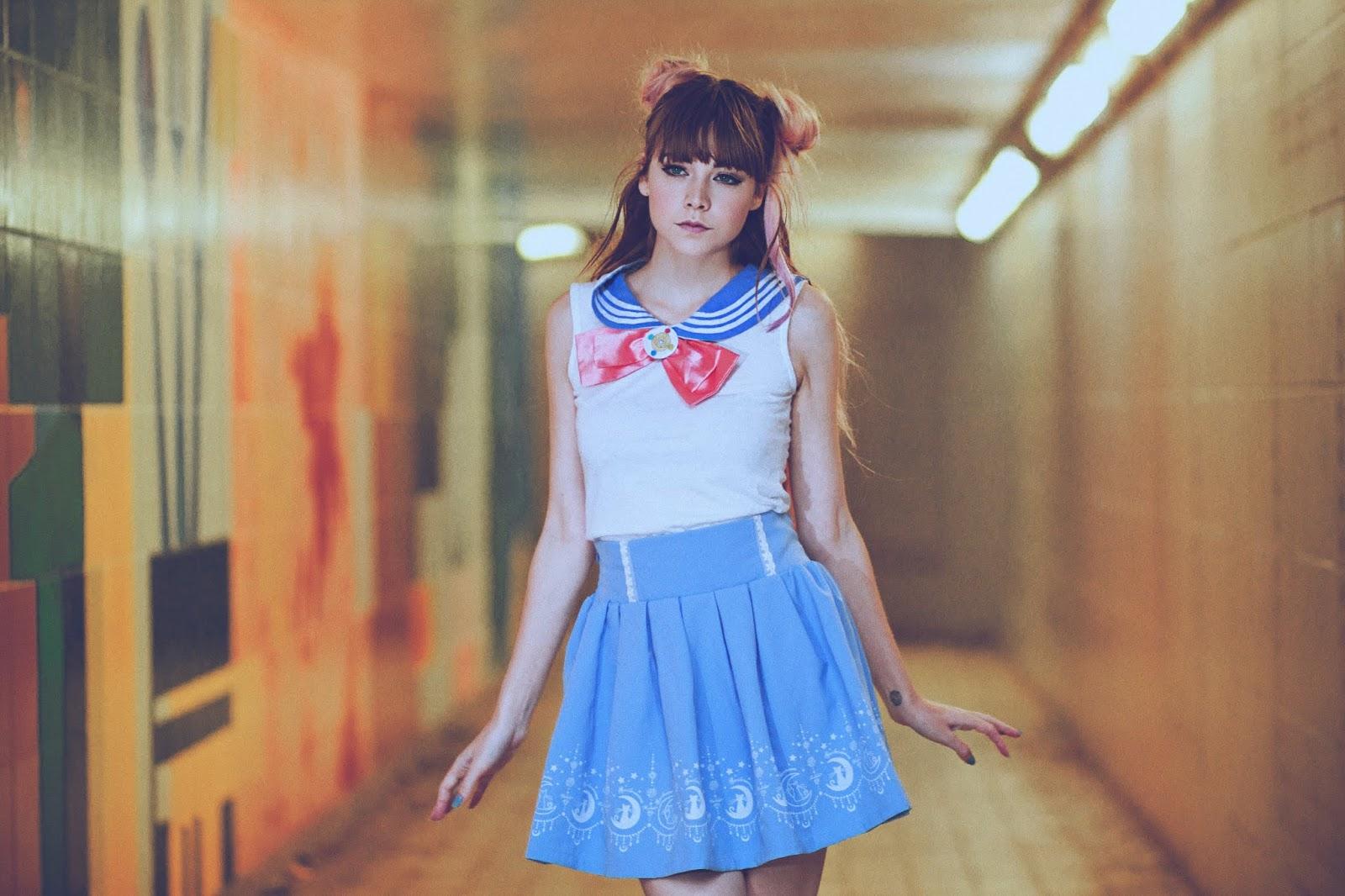Hot and sexy anime girl