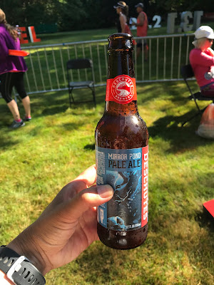 beer at the finish!