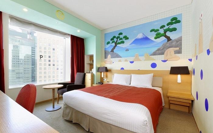 No. 11 Park Hotel Tokyo Artist Room 'Public Bathhouse' designed by Keiko Migita