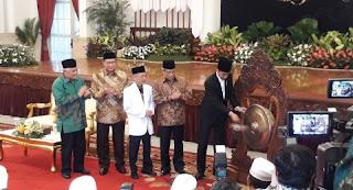 Presiden Jokowi Resmikan 3 Hajatan Besar NU