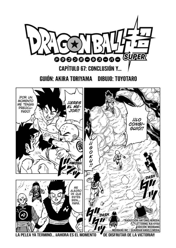 Dragon Ball Super Manga 67 Español