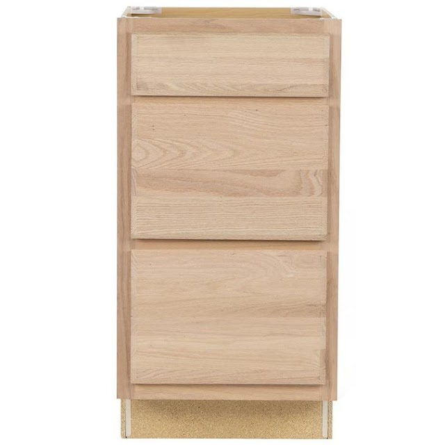 unfinished base drawer cabinets