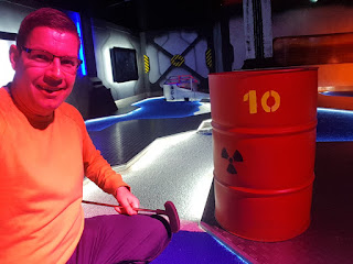 Mr Mulligans Space Golf in Birmingham