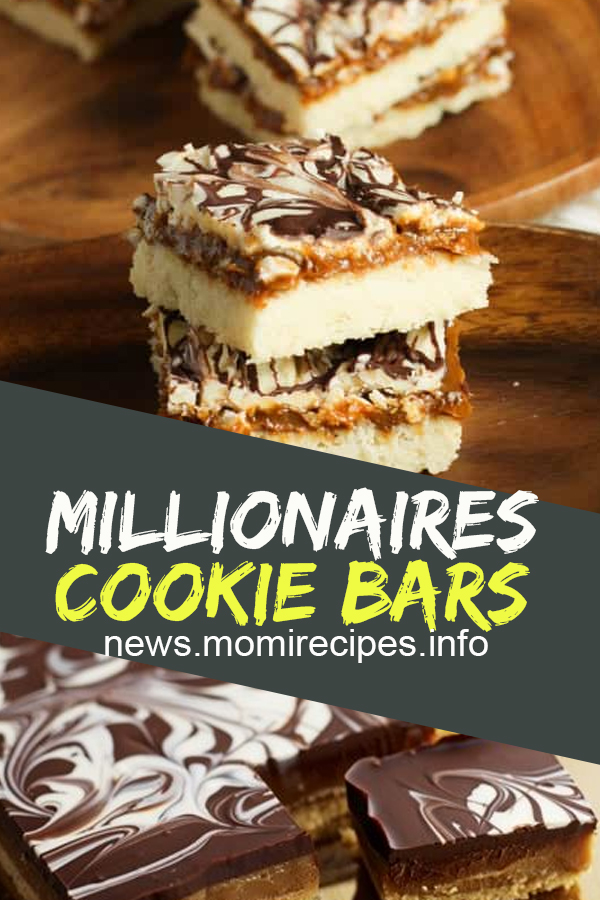 Millionaires cookie bars | Cookie Recipes Chocolate Chip, Cookie Recipes Easy, Cookie Recipes Christmas, Cookie Recipes Keto, Cookie Recipes From Scratch, Cookie Recipes Sugar, Cookie Recipes Peanut Butter, Cookie Recipes Best, Cookie Recipes Unique, Cookie Recipes Snickerdoodle, Cookie Recipes Oatmeal, Cookie Recipes Healthy, Cookie Recipes With Cake Mix, Cookie Recipes Lemon, Cookie Recipes M&m, Cookie Recipes Monster. #millionaires #cookie #bars