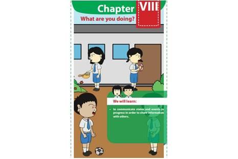 Chapter 8 Halaman 101 Kelas 8 (Membuat Kalimat Berdasarkan Gambar)