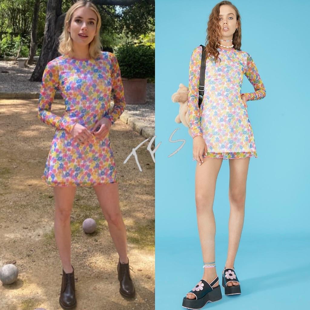 Instagram Style Emma Roberts In Delia S By Dolls Kill Sea Ny