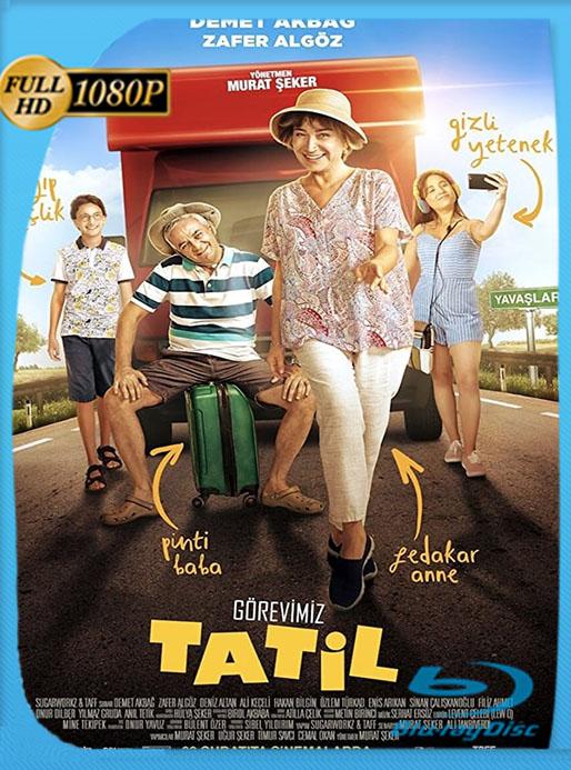 Vacaciones en familia (Görevimiz Tatil)  (2018) 1080p WEB-DL Latino [GoogleDrive] [tomyly]