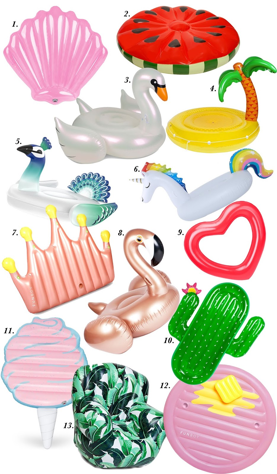 The Cutest Pool Floats - Something Delightful Blog
