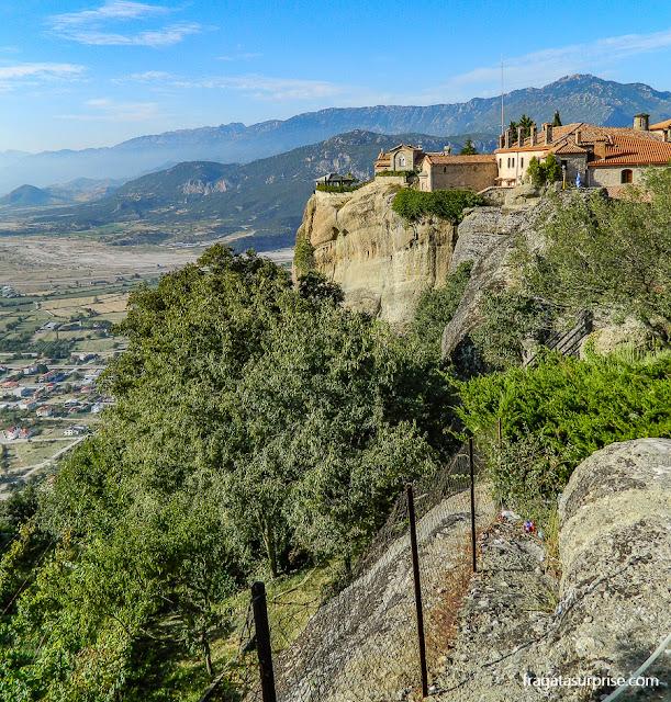 Mosteiro de Agios Stephanous (Santo Estevão), Meteora, Grécia