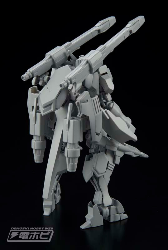 HG 1/144 Gundam Flauros Sample Images by Dengeki Hobby