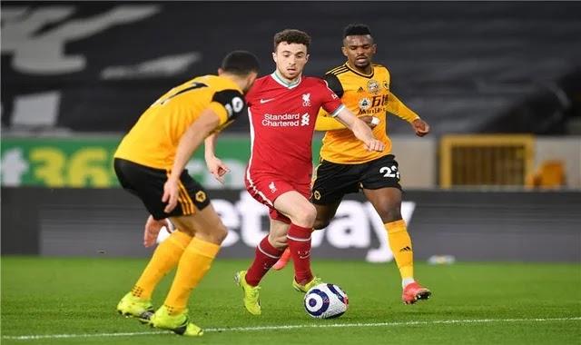 Video | Jota scored Liverpool's first goal against Wolverhampton